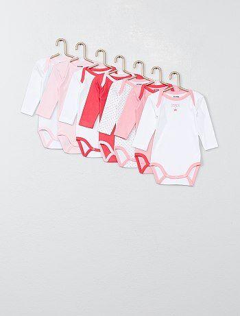 5d1bb62a9ed45 Bodies manches longues bébé - body pas cher Vêtements bébé