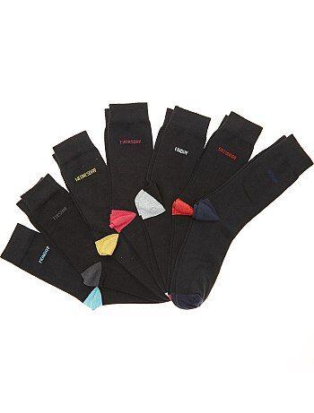 Lot de 7 paires de chaussettes semainier