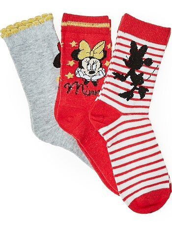 Lot de chaussettes `Disney Minnie Mouse`
