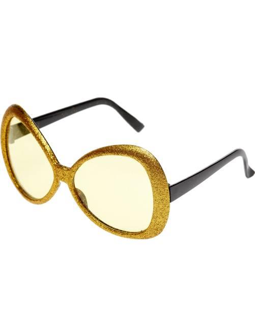 Lunettes maxi à paillettes                                         doré Accessoires