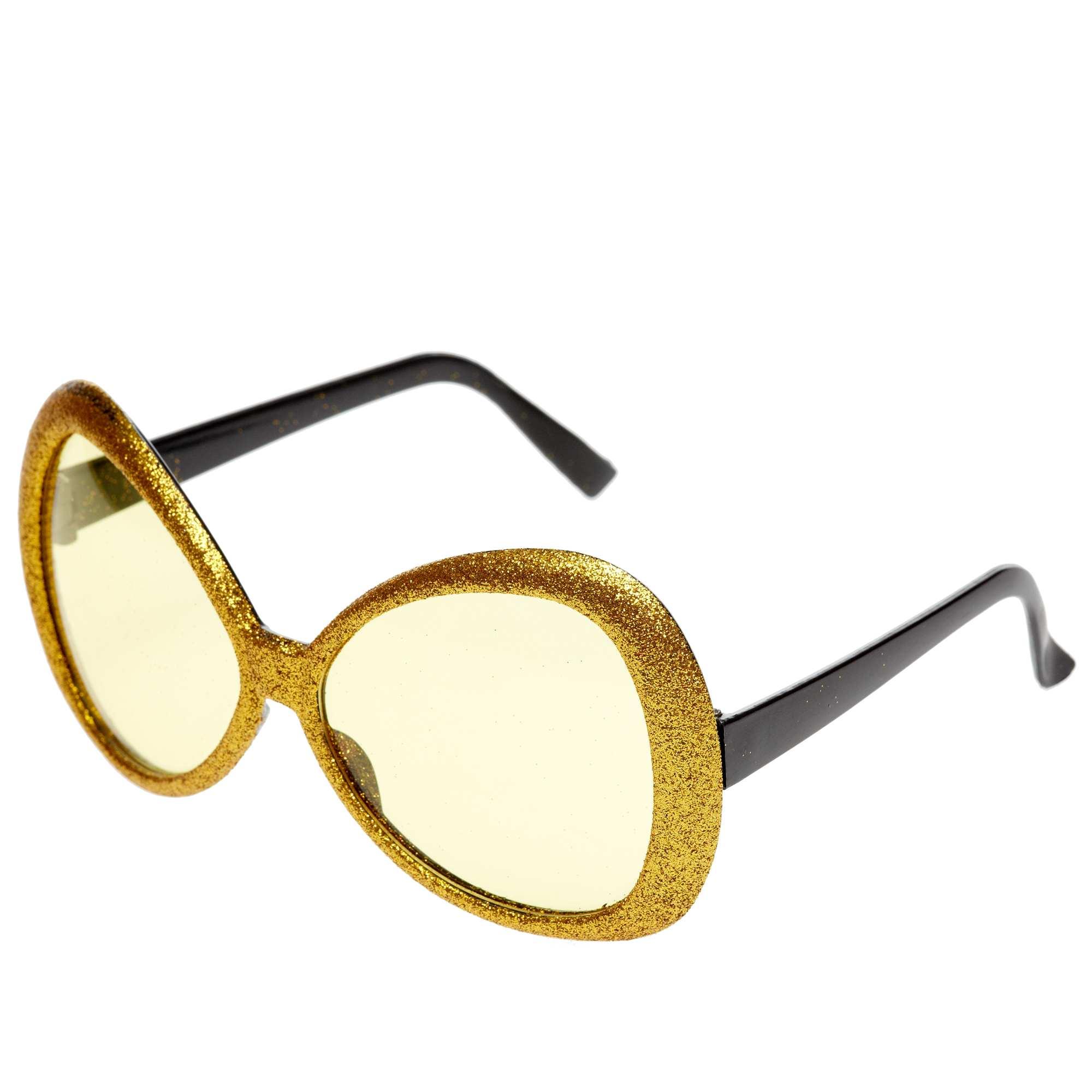 ca2136f13a Lunettes maxi à paillettes Accessoires - doré - Kiabi - 3,00€