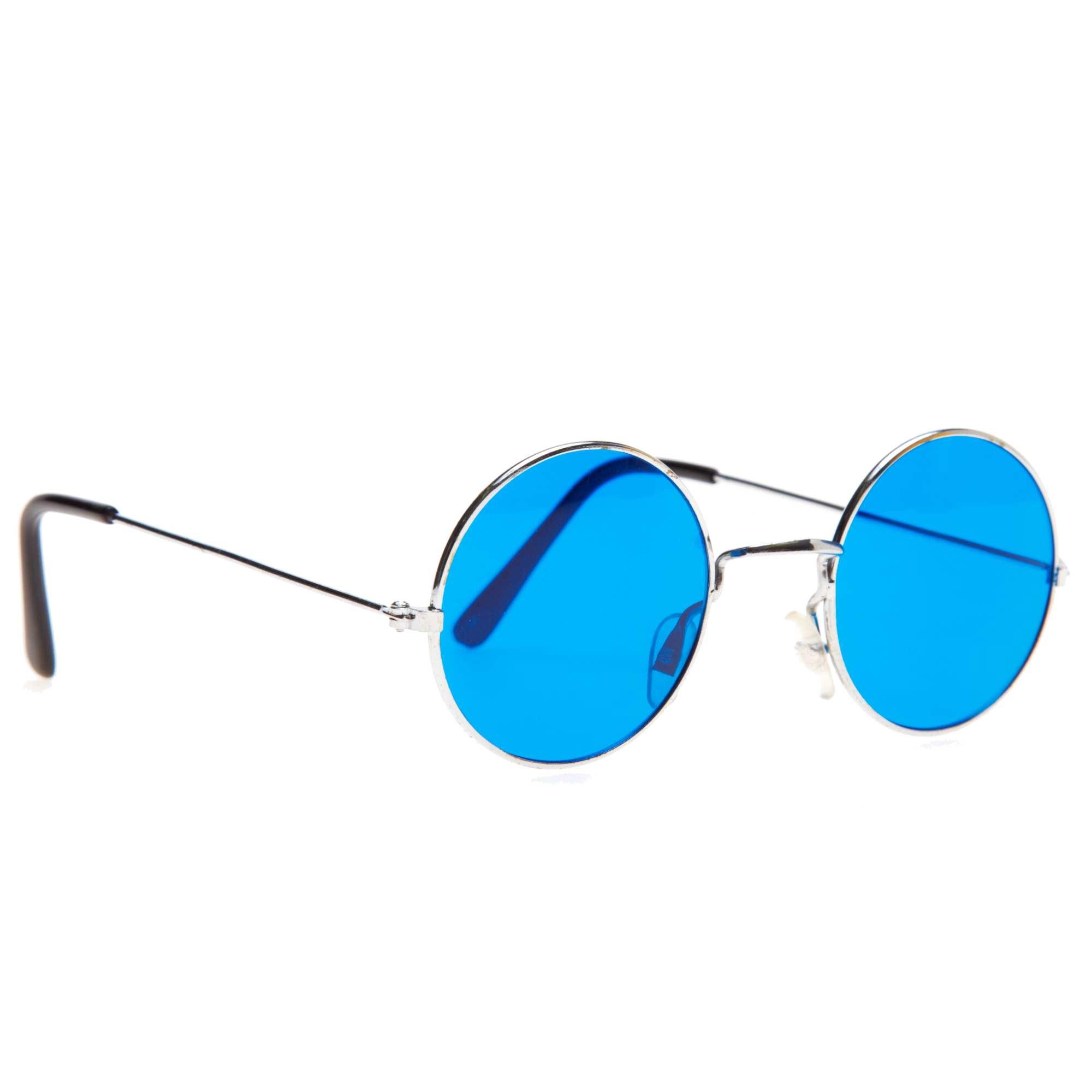 fe1f57a8ce2f2 Lunettes rondes hippie Accessoires - bleu - Kiabi - 2