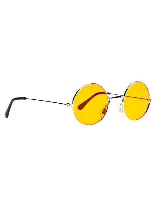 Lunettes rondes hippie                                                                                         orange Accessoires