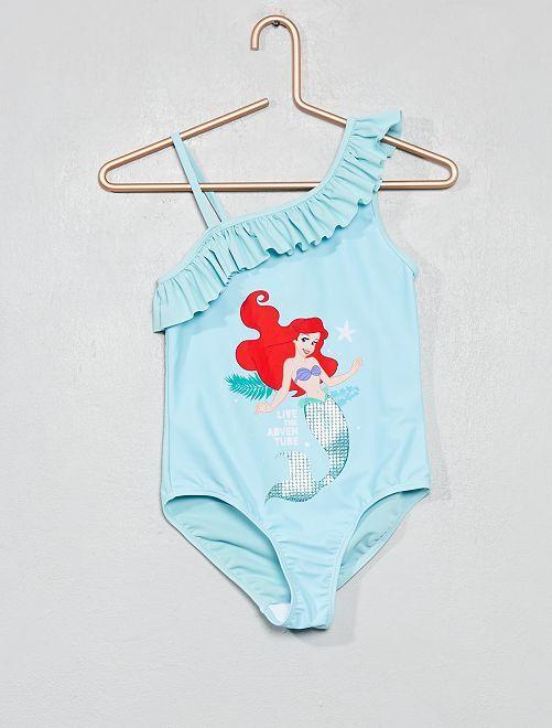 Maillot de bain 1 pièce 'Ariel'                                         bleu Fille