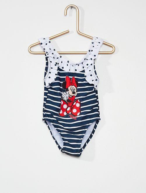 Maillot de bain 1 pièce 'Minnie'                                         bleu marine