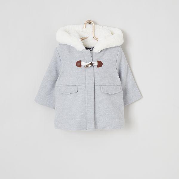 Manteau fourré à capuche | ROMWE