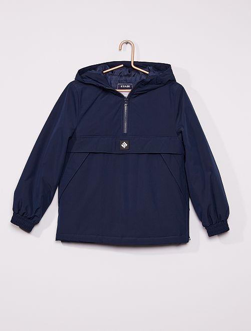 Manteau à enfiler                                         bleu marine