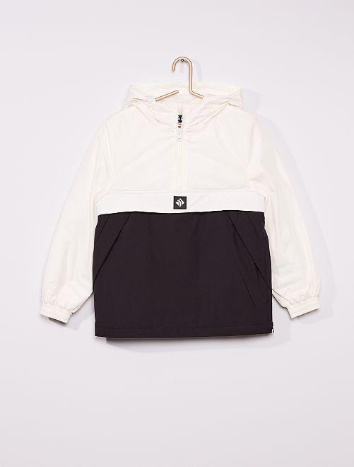 Manteau à enfiler                                         noir/blanc