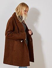 Veste manteau femme pour rester au chaud Vêtements femme   Kiabi