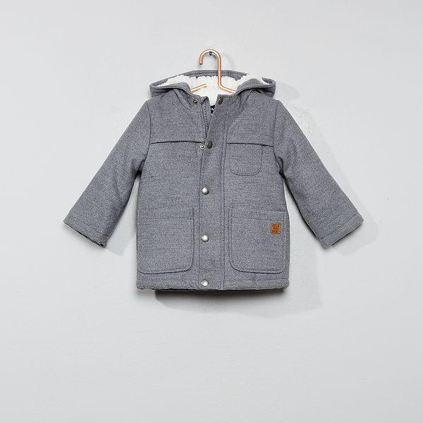 caractéristiques exceptionnelles dernière sélection de 2019 en ligne à la vente Manteau chaud doublé sherpa