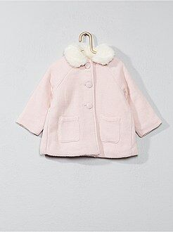 Combinaison, manteau - Manteau col claudine - Kiabi