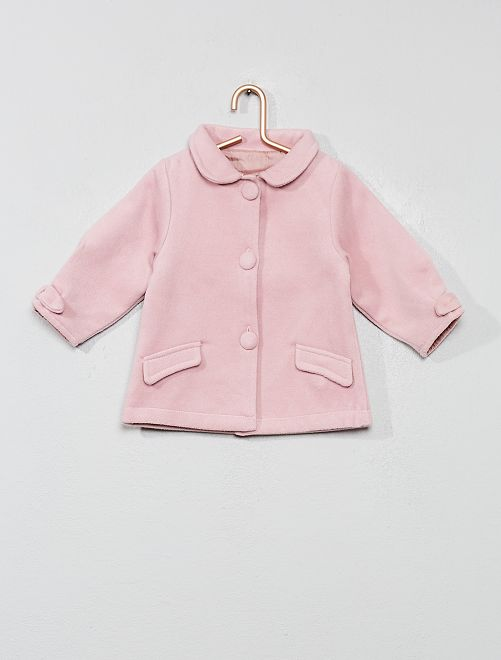 Manteau droit                     rose