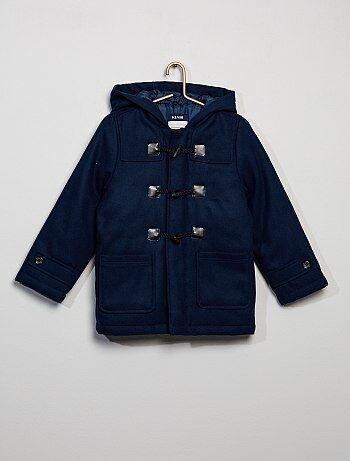Garçon 3-12 ans - Manteau 'duffle-coat' à capuche - Kiabi
