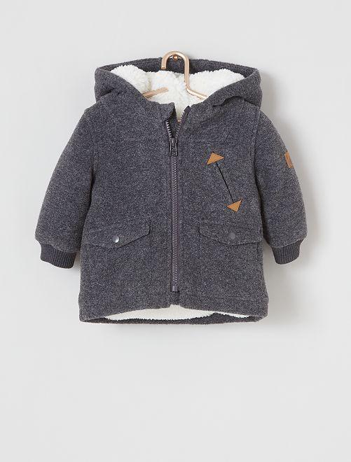 Manteau éco-conçu                             gris