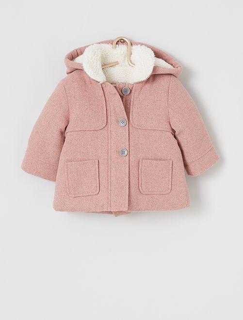 Manteau éco-conçu                             rose