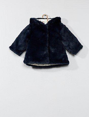 Manteau en fausse fourrure - Kiabi