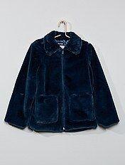 San Francisco ae691 aaefb Manteau fille - vêtements hiver Vêtements fille   Kiabi