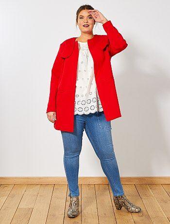 Rouge Manteau Manteau Femme Vêtements Kiabi Vêtements Femme xgXwngE