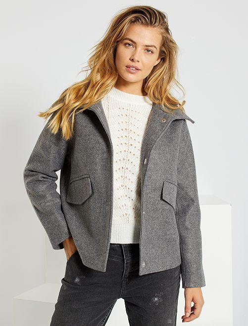 Manteau léger 'JDY'                             GRIS