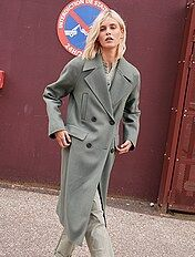 Manteau léger effet lainage Femme Kiabi 30,00€