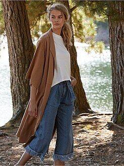 Veste en daim femme kiabi