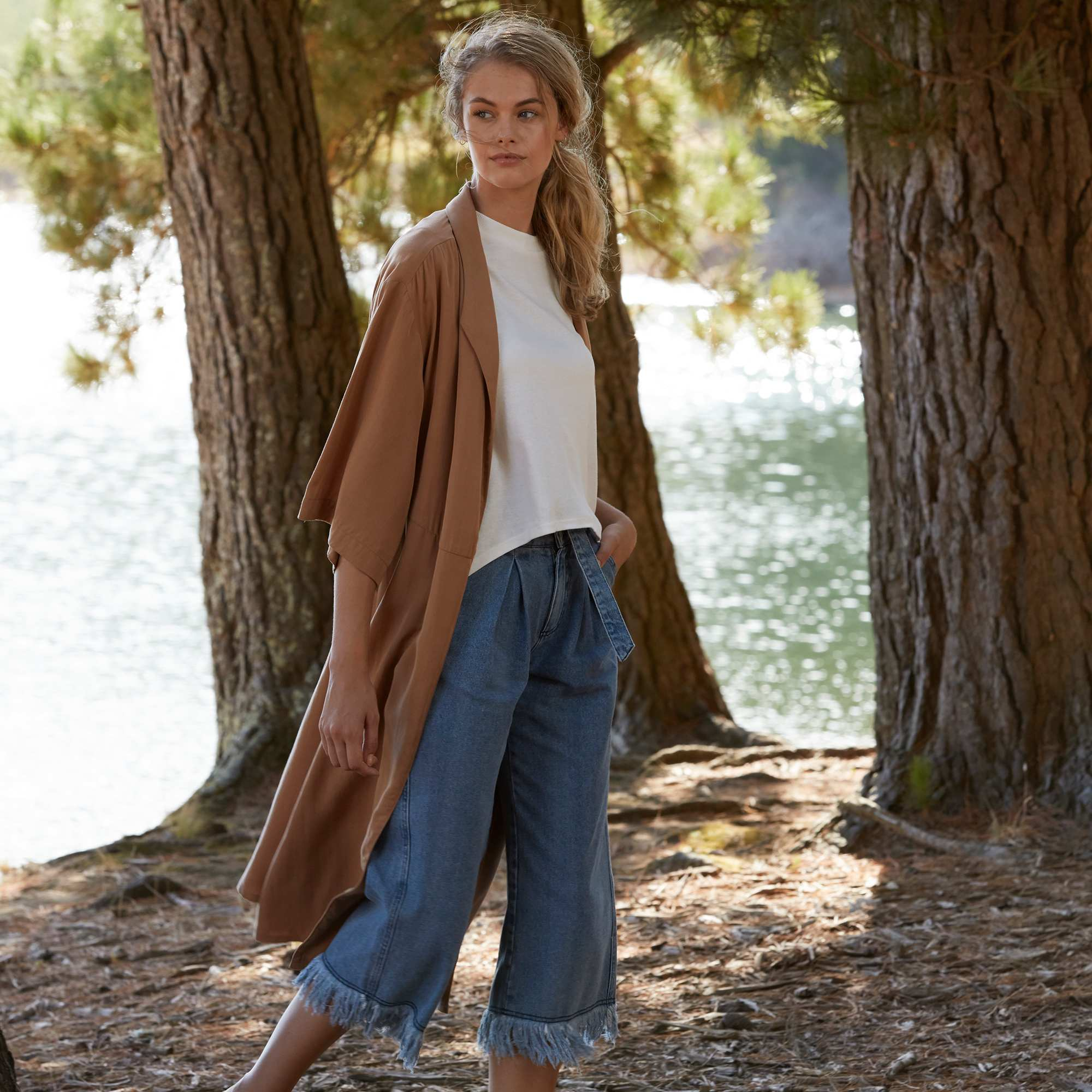 Couleur : beige, , ,, - Taille : XL, L, M,S,Avec cette nouvelle ligne, Kiabi s'engage avec style en développant sa gamme «