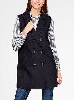 Manteau sans manches