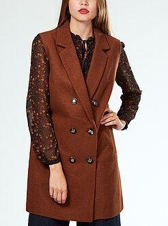 Manteau - Manteau sans manches