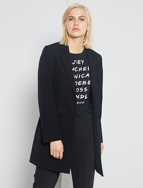 Manteau style blazer                                                                 noir