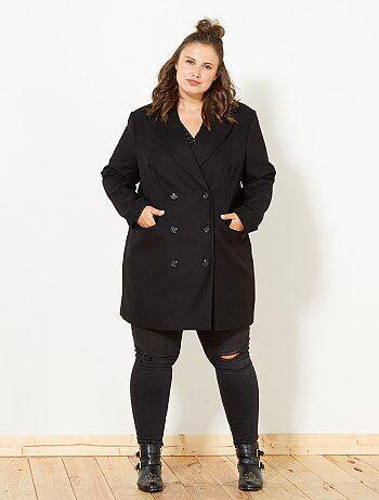 914574414f9d6 Soldes manteau, blouson, trench, doudoune Grande taille femme   Kiabi