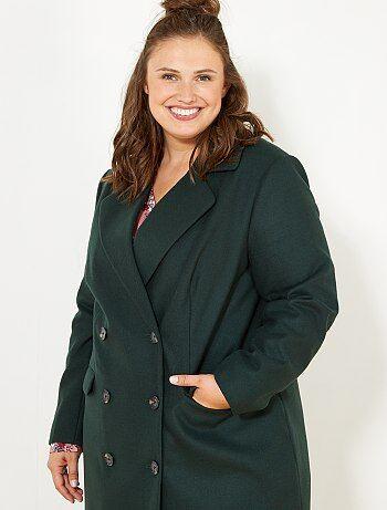 Grande taille femme - Manteau style caban - Kiabi