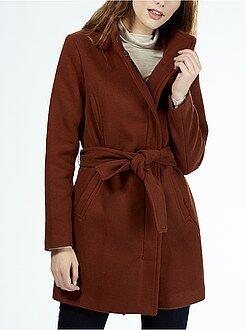 soldes manteau femme caban duffle coat mode hiver femme kiabi. Black Bedroom Furniture Sets. Home Design Ideas