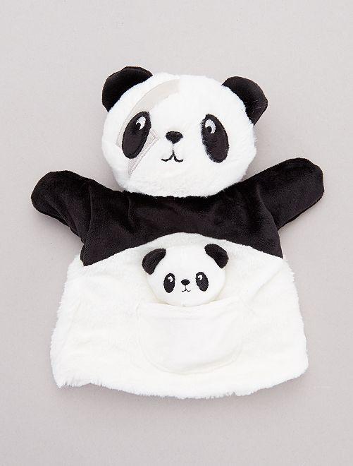 Marionnette 'panda' rockeur                                         panda