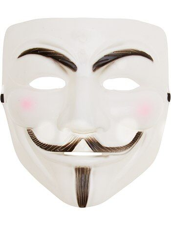 Masque anonyme - Kiabi