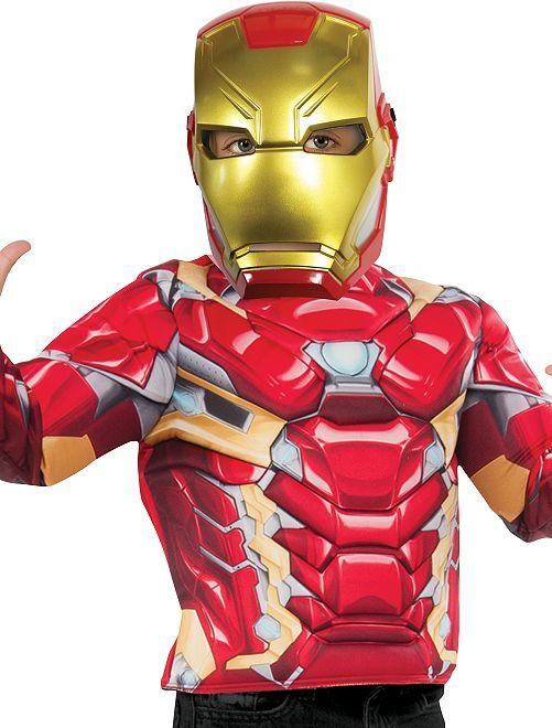 Masque 'Iron Man'                             rouge