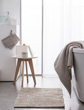 Emmitouflez-vous en sortant du bain ! - Maxi drap de bain - Dimensions 150 x 90 cm environ - grammage 500 gr/m² - Douceur naturelle de la bouclette - Bouclette 100% coton sur les deux faces