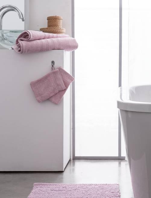 Maxi drap de bain 150 x 90 cm 500gr                                                                                                                                                     rose Linge de lit