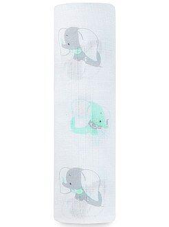 Garçon 0-36 mois - Maxi-lange 107 x 107 cm imprimés 'Ideal Baby' - Kiabi