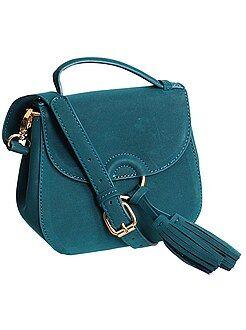 Accessoires - Mini sac aspect suédine