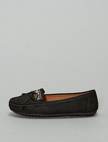 Mocassins style indien