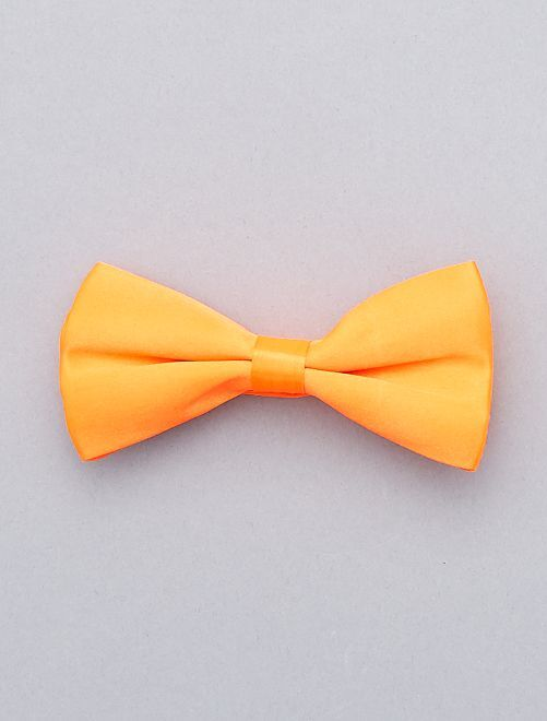 Noeud papillon fluo                                                                             orange