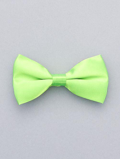 Noeud papillon fluo                                                                 vert Accessoires