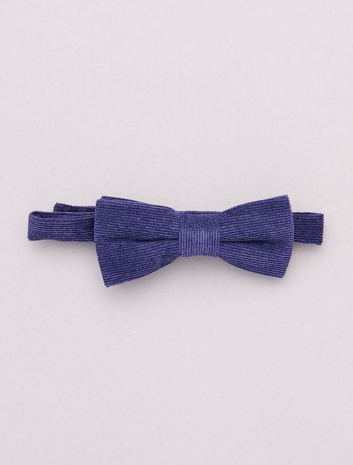 Nœud papillon scratch                             bleu