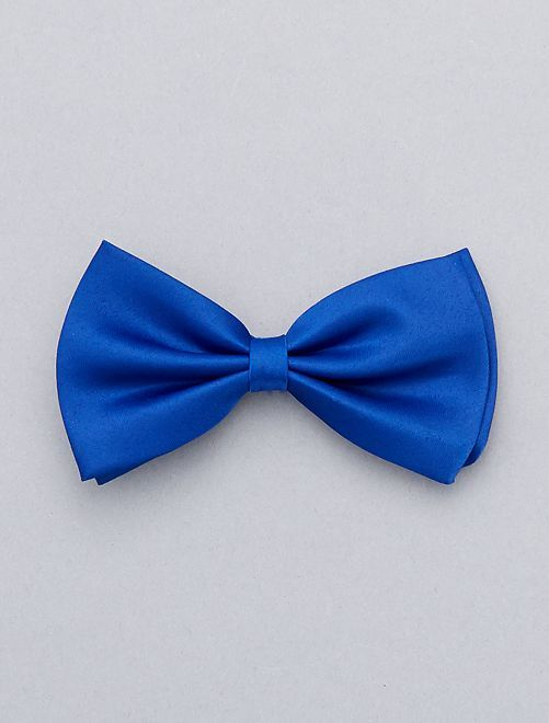Noeud papillon uni                                                                             bleu Accessoires