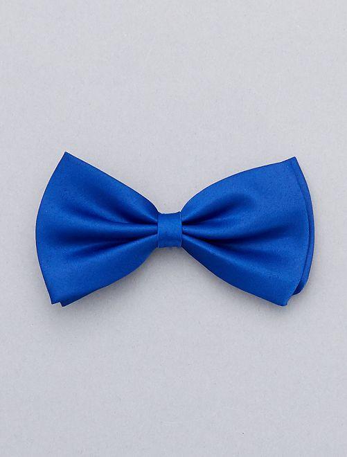 Noeud papillon uni                                                                 bleu