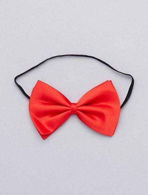 94af607e04a8d Noeud papillon uni Accessoires - rouge - Kiabi - 1,50€