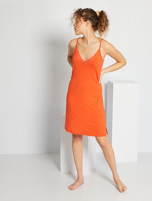 Nuisette fluide                                                                 orange