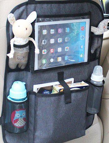 organisateur de voyage en voiture b b gar on noir kiabi 14 00. Black Bedroom Furniture Sets. Home Design Ideas