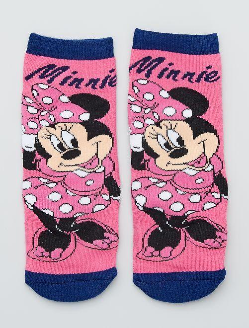 Paire de chaussettes 'Minnie Mouse' de 'Disney'                                                     rose/marine