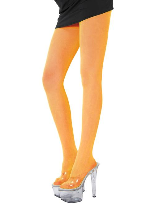 Paire de collants fluo 70D                                                                             orange Femme